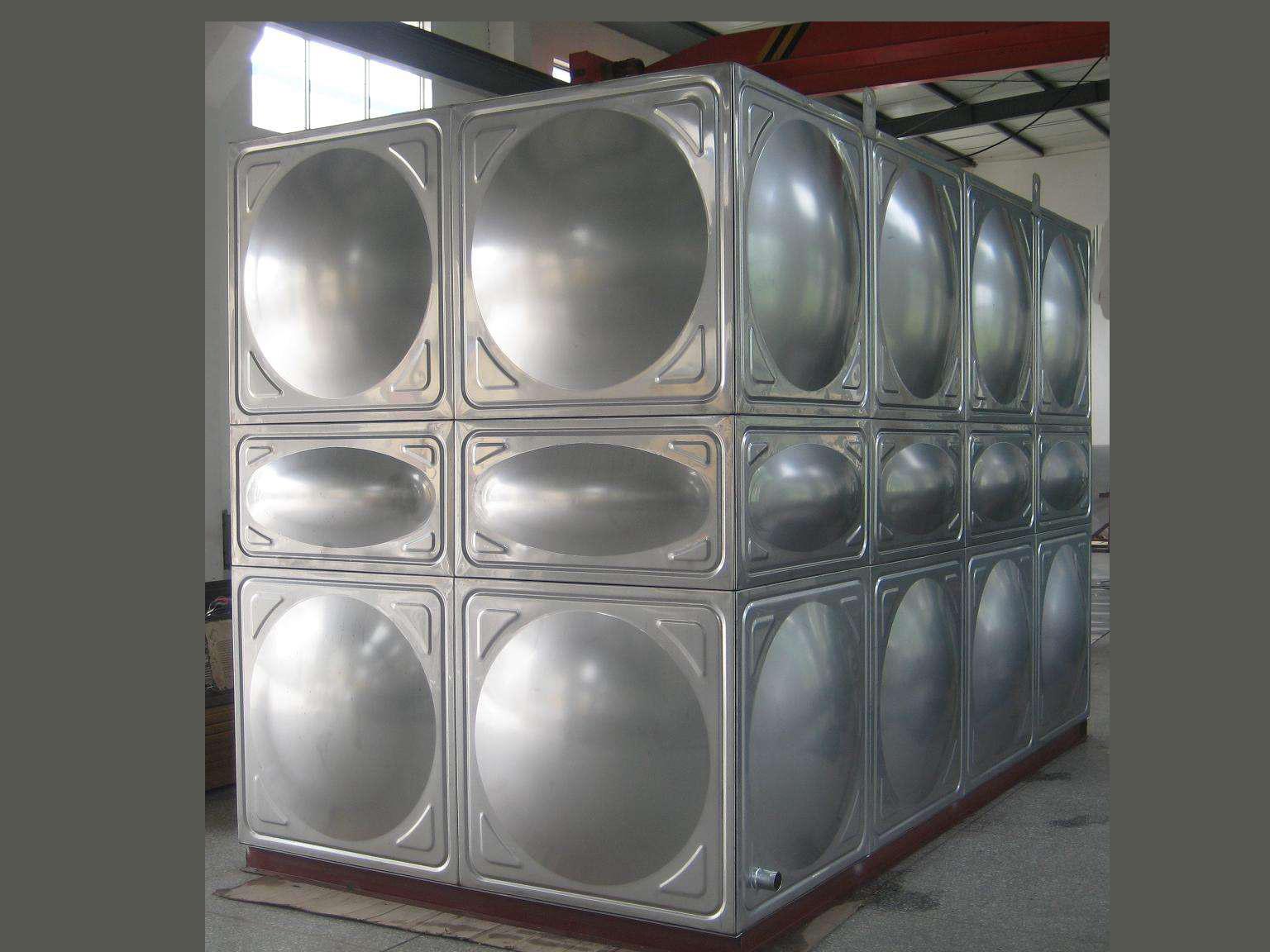 不锈钢焊接水箱 不锈钢拼装水箱销售