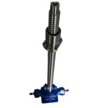 嘉兴SL50锥齿轮丝杠升降机型号齐全-SL100L锥齿轮丝杆升降平台安装尺寸图片