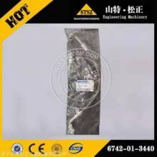 日本进口配件小松PC300-8增压器进油管6742-01-3440