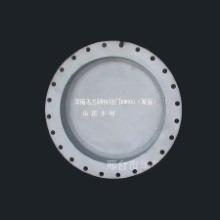 供应热销DN800法兰浮箱喷锌钢拍门 法兰浮箱拍门 浮箱拍门图片
