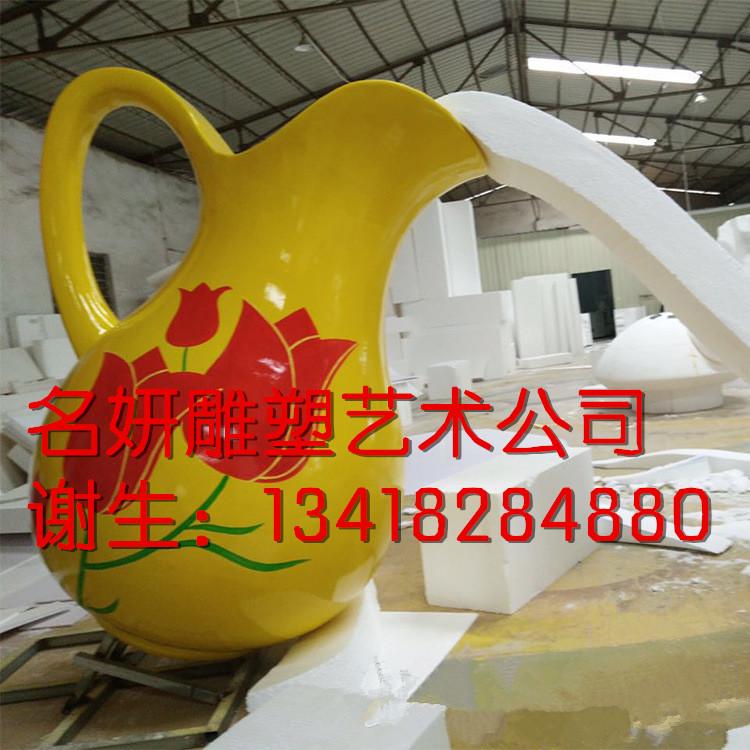 玻璃钢花瓶雕塑销售